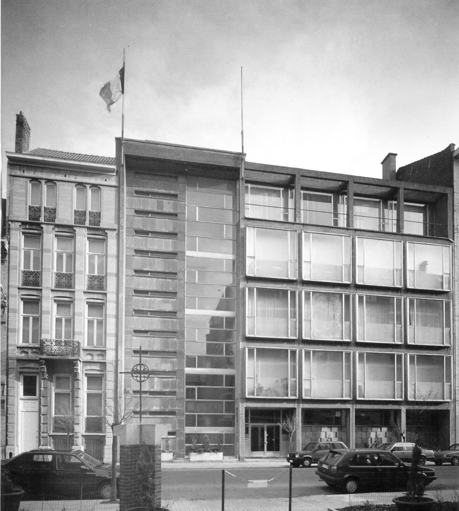 Modernist architecture - Maison des associations internationales - M.A.I.