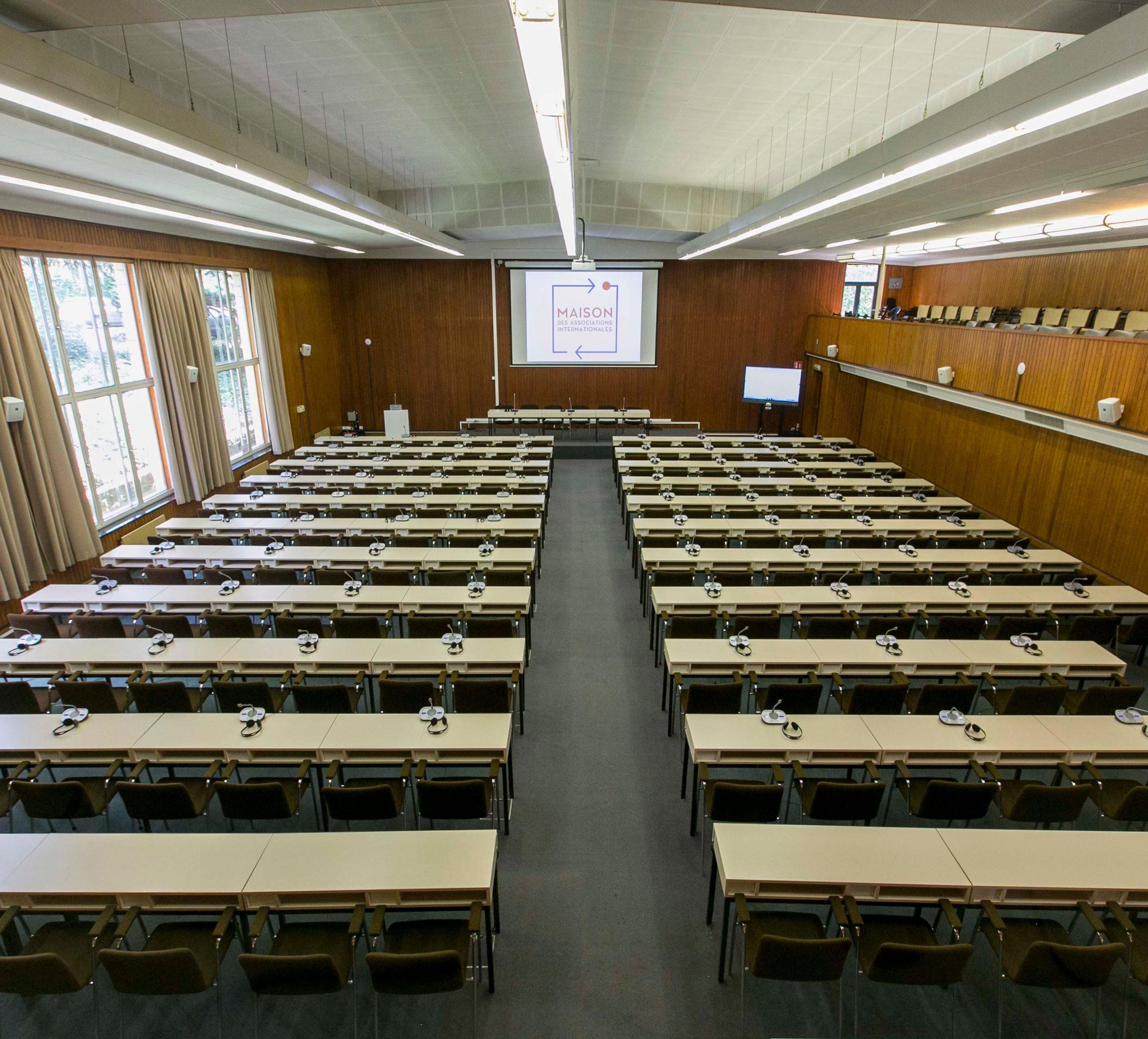 Meeting center - Maison des associations internationales - M.A.I.